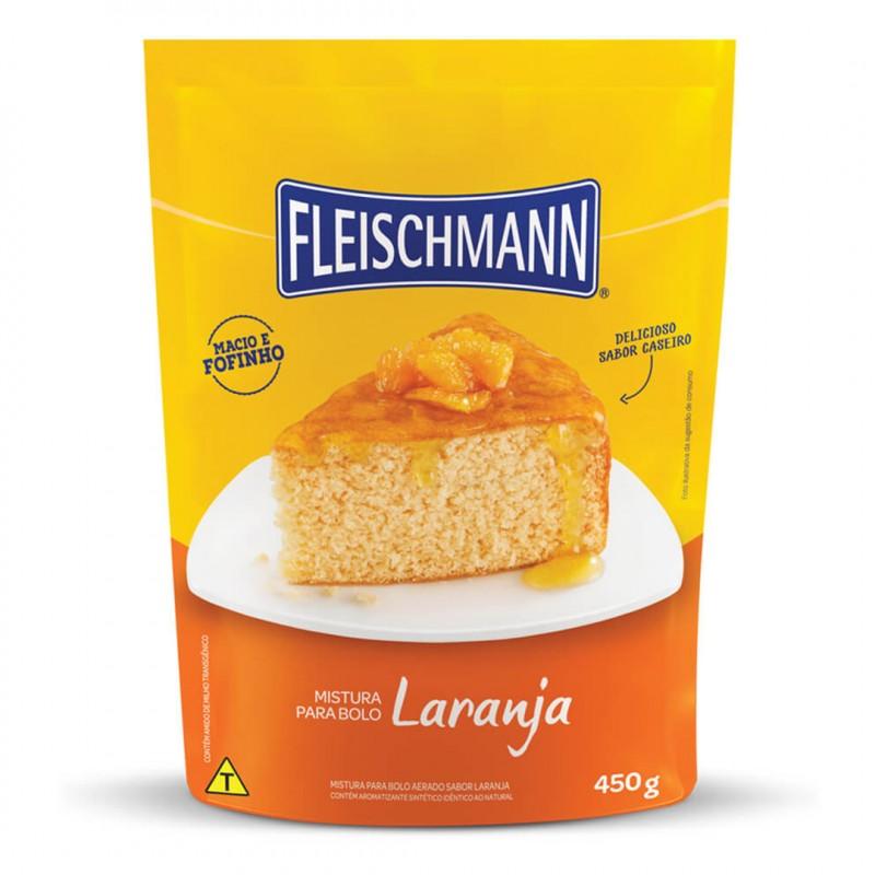 Mistura para Bolo • Laranja • 450g • Fleischmann