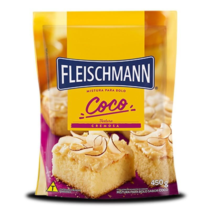 Mistura para Bolo • Coco • 450g • Fleischmann