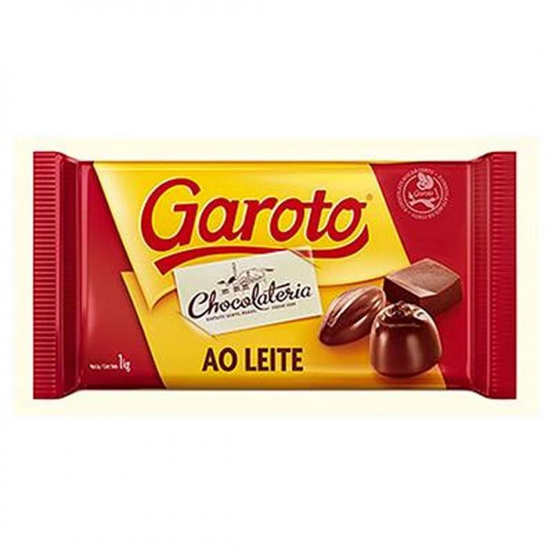 Garoto • Ao Leite • Barra • 1kg