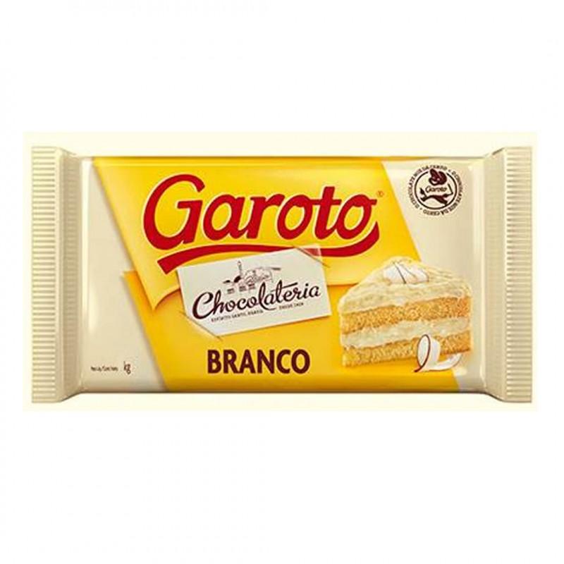 Garoto • Branco • Barra • 1kg