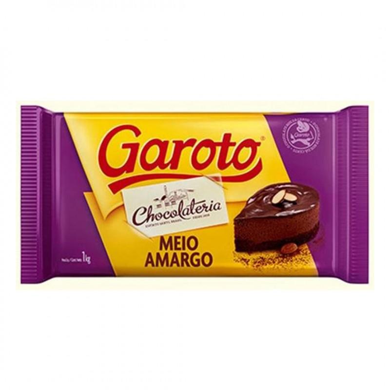 Garoto • Meio Amargo • Barra • 1kg