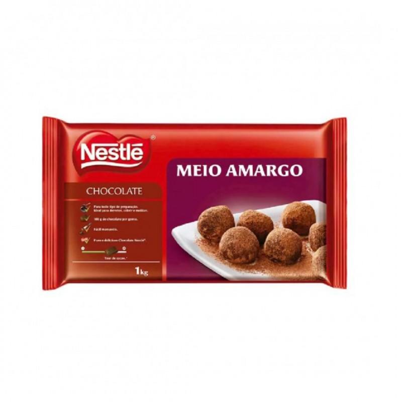 Barra • Meio Amargo • 1kg • Nestlé