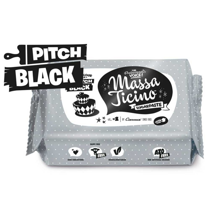 Massa Ticino • Pitch Black • 1kg • Pasta Americana