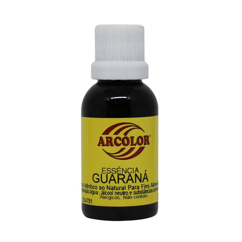 Essência • Sabor Guaraná • 30ml • Arcolor