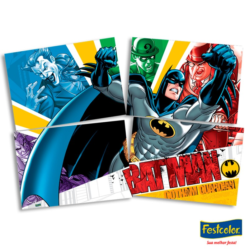 Painel Decorativo • Batman • Festcolor