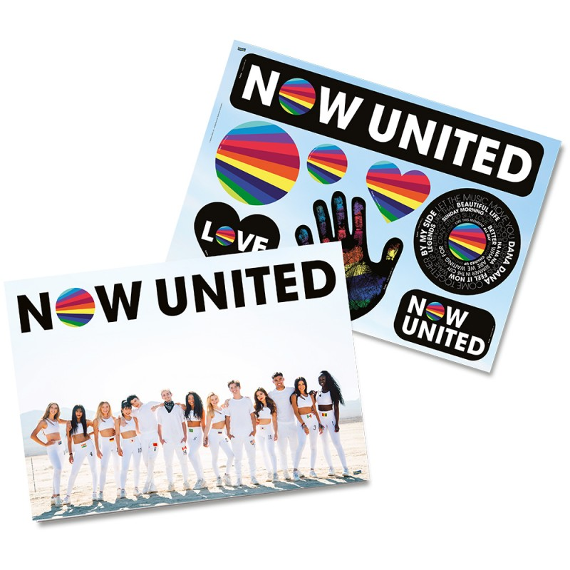 Kit Decorativo • Now United • Festcolor