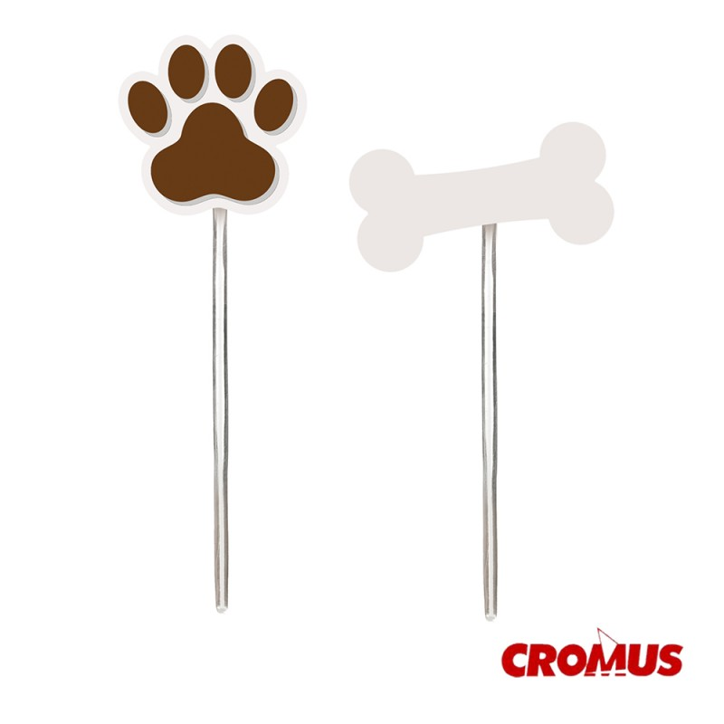 Pick Decorativo • 12un.• Cachorrinhos • Cromus