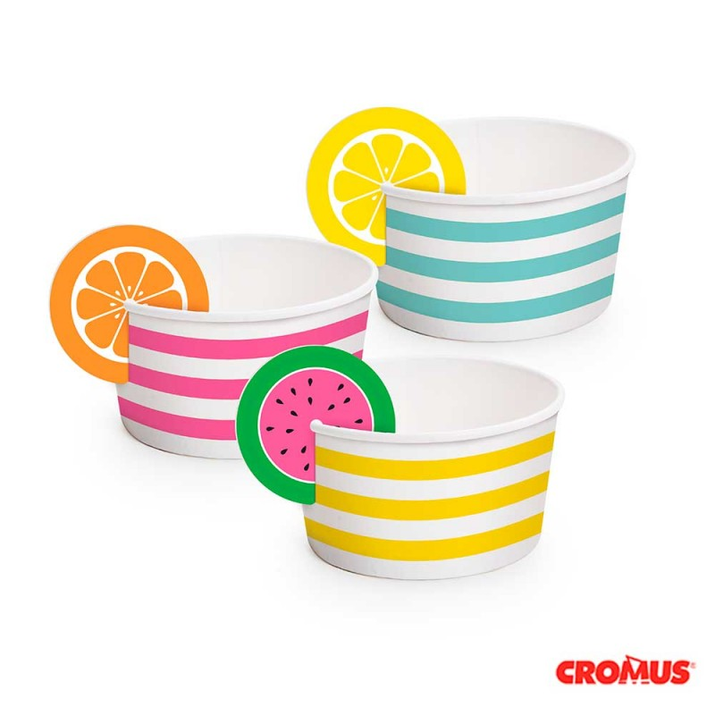 Bowl Multiuso • 180ml.•08un.• Quitandinha • Cromus