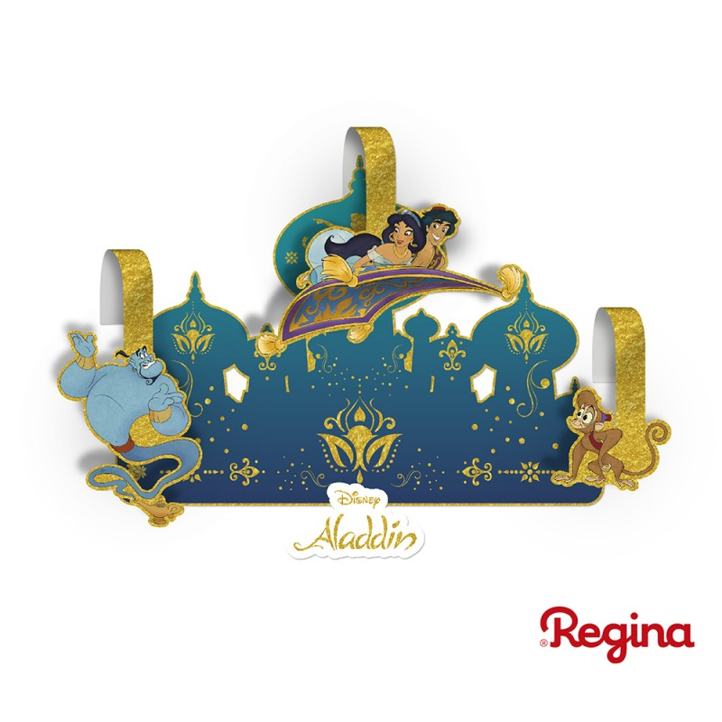 Kit Decorativo • Aladdin • Regina