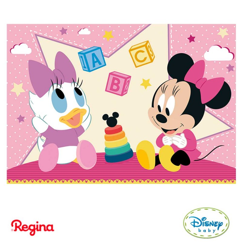 Kit Decorativo • Minnie - Disney Baby • Regina