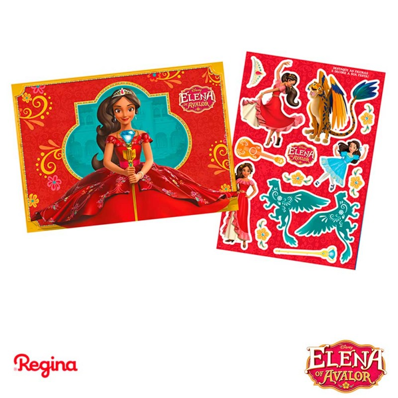 Kit Decorativo •  Elena de Avalor • Regina