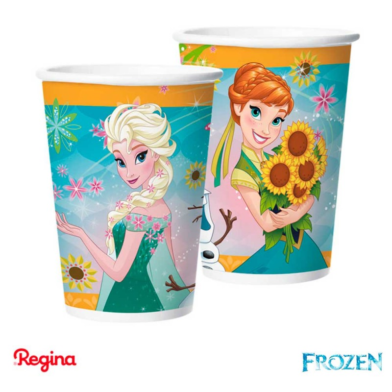Copo 180ml • 8un. • Frozen • Regina