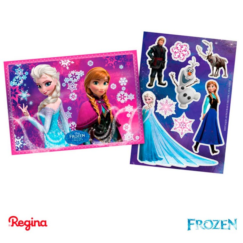 Kit Decorativo • Frozen • Regina