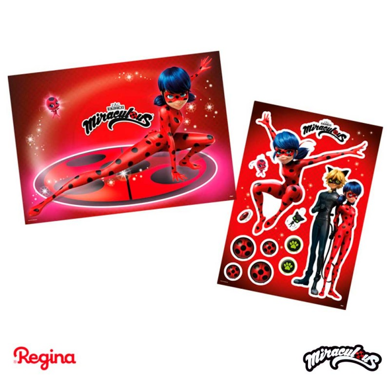 Kit Decorativo Miraculous Ladybug • REGINA
