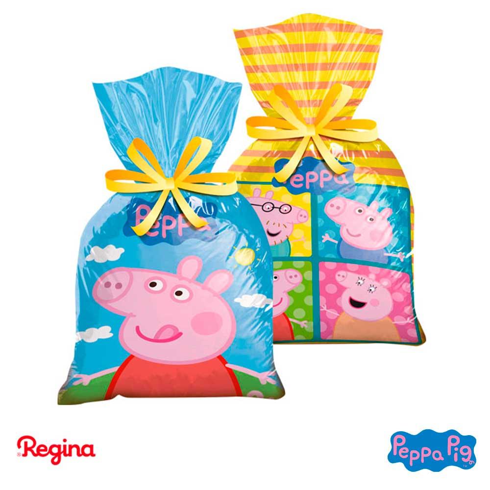 9d566b646 Sacola Supresa • 08un.• Peppa pig • Regina|Silvano Festas