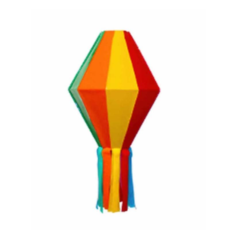 Balão Junino Decorativo • Colorido - G • Plástico