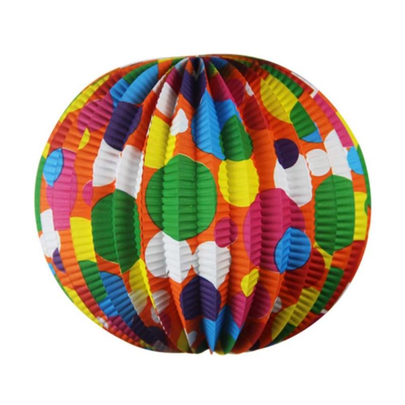 Enfeite Junino Decorativo • Balão Circulo Colorido • Popper