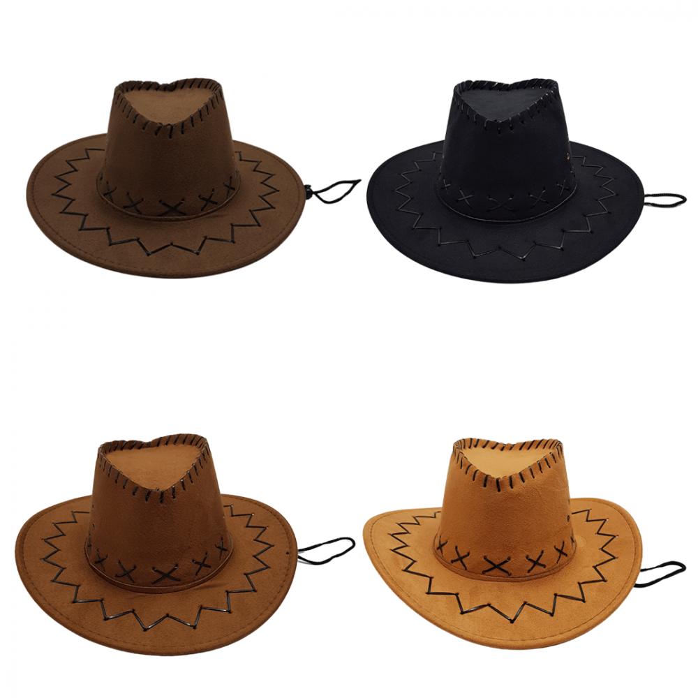 Chapéu • Cowboy • 1Un • 4 Cores
