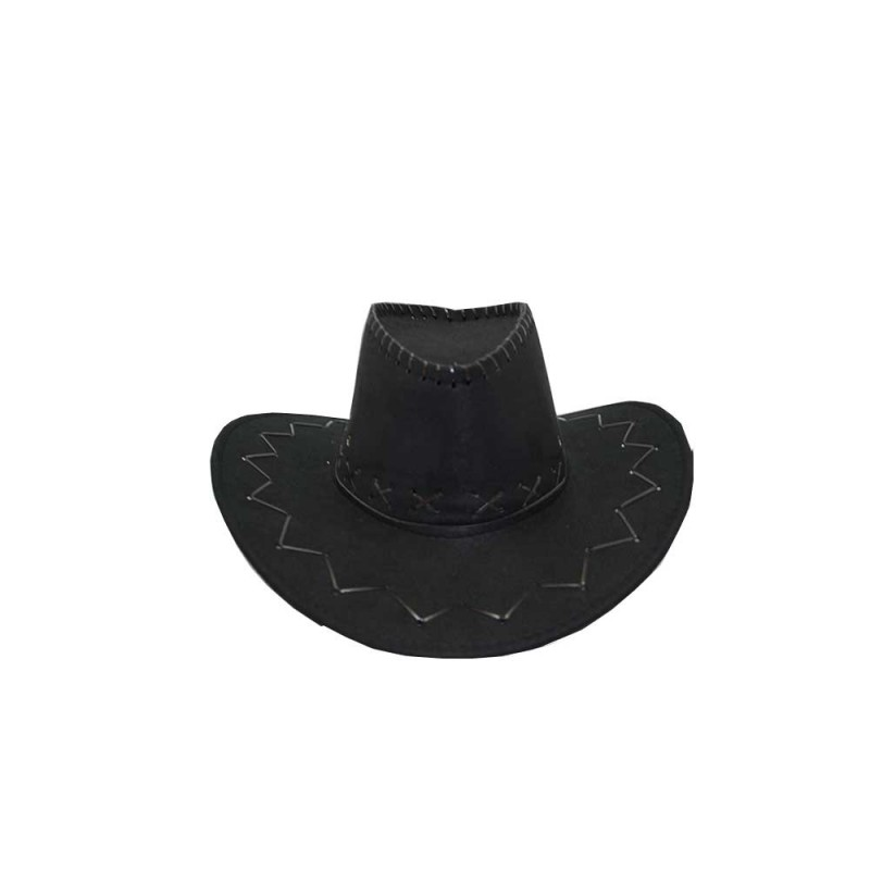 Chapéu Cowboy • Festa Junina • Preto
