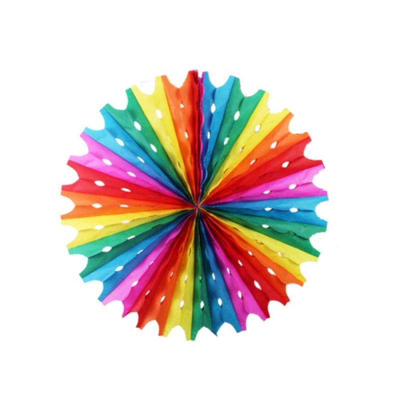 Enfeite Junino Decorativo • Balão - Circulo Colorido • 01un. • Popper
