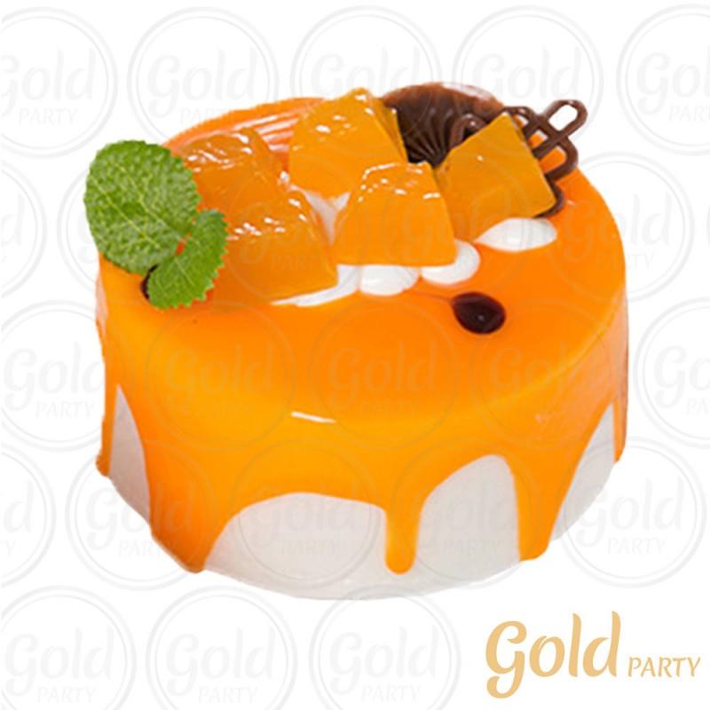 Imã • Doce de Frutas Maracujá • Redondo • 1un.• REF:PA1014 • Gold Party