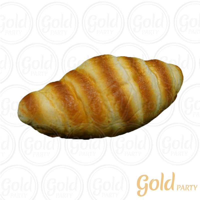 Pão Croissant • 1un. • REF: PA1034 • Gold Party