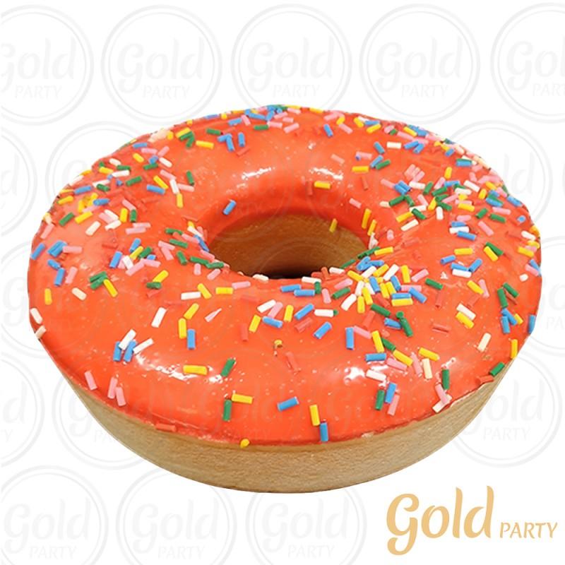 Imã • Donuts Gigante • Morango • 1un.• REF: PA1027/1 • Gold Party