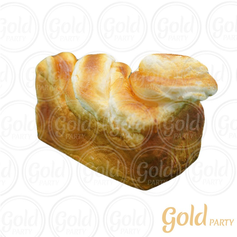 Pão Brioche • Grande • 1un • REF: PA1047 • Gold Party