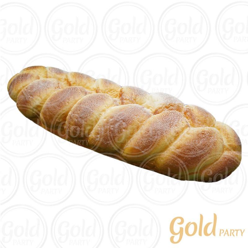 Pão Semolina • Trançado • 1UN • REF: PA1009 • Gold Party