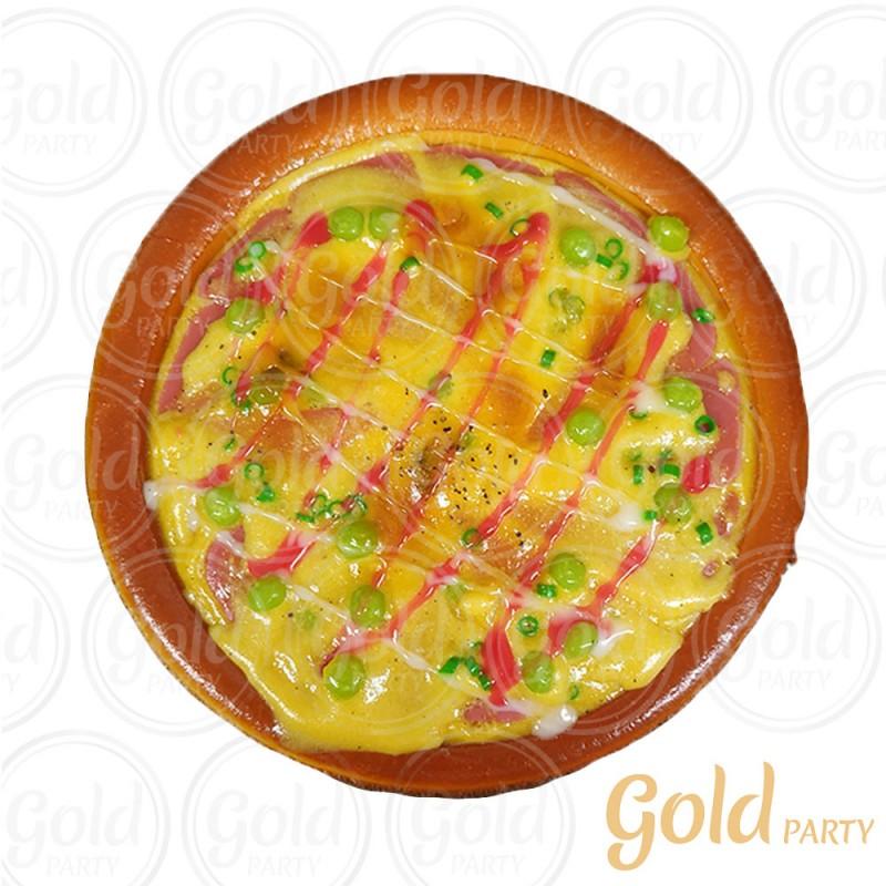 Pizza • Ervilha • 1un • REF: PA1006/2 • Gold Party