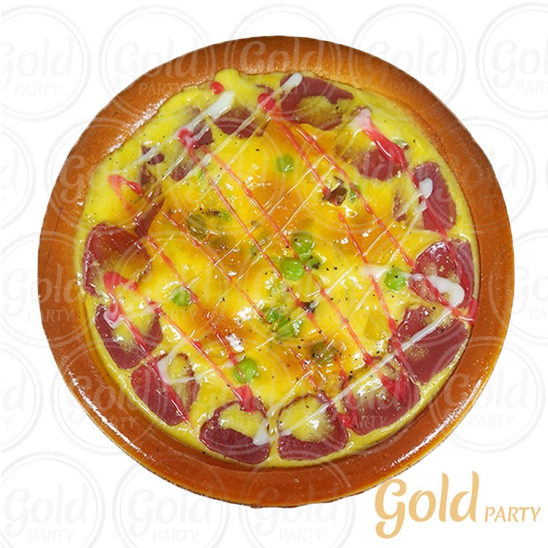Pizza • Pepperoni • 1un • REF: PA1006/1 • Gold Party