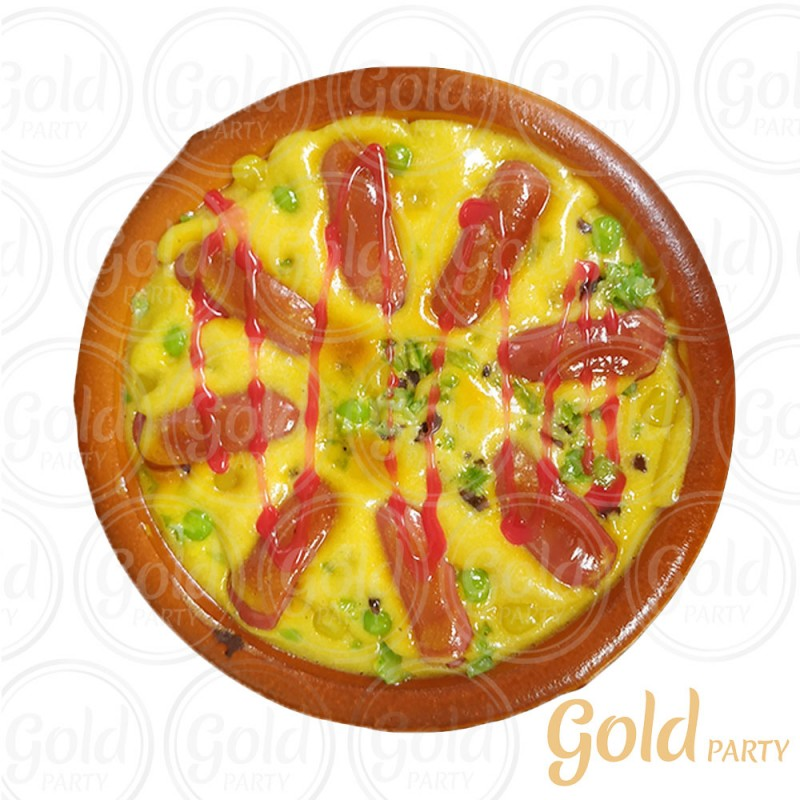 Pizza • Calabresa • 1un • REF: PA1006/4  • Gold Party