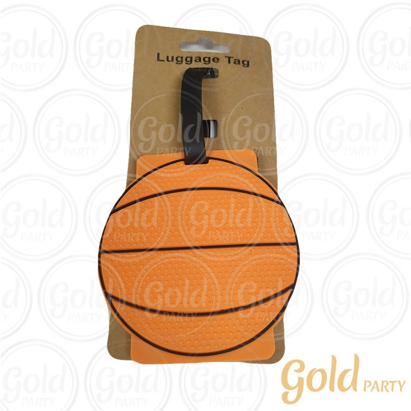 Luggage Tag Basguete • 1un.• Gold Party