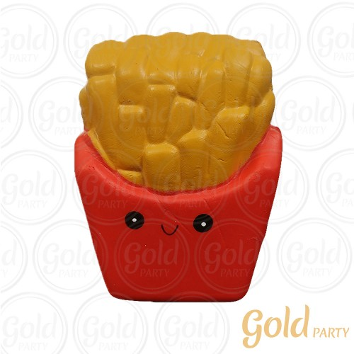 Brinquedo Squish • Batata Frita • 1un.• Gold Party