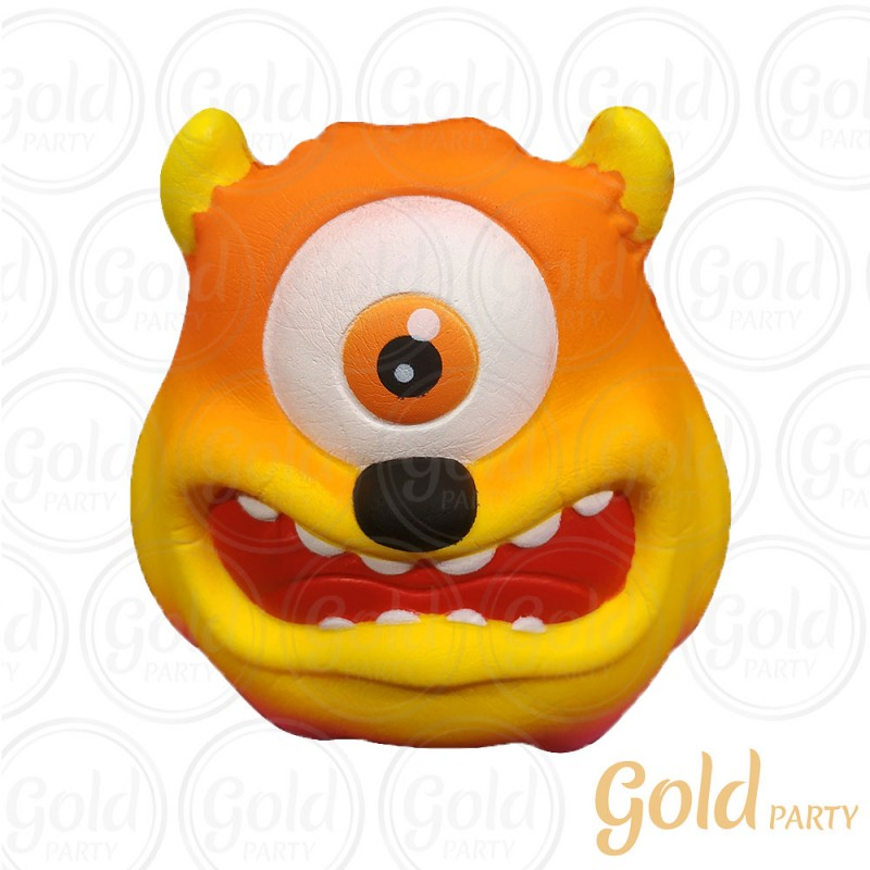 Brinquedo Squish • Monstro • 1un.• Gold Party