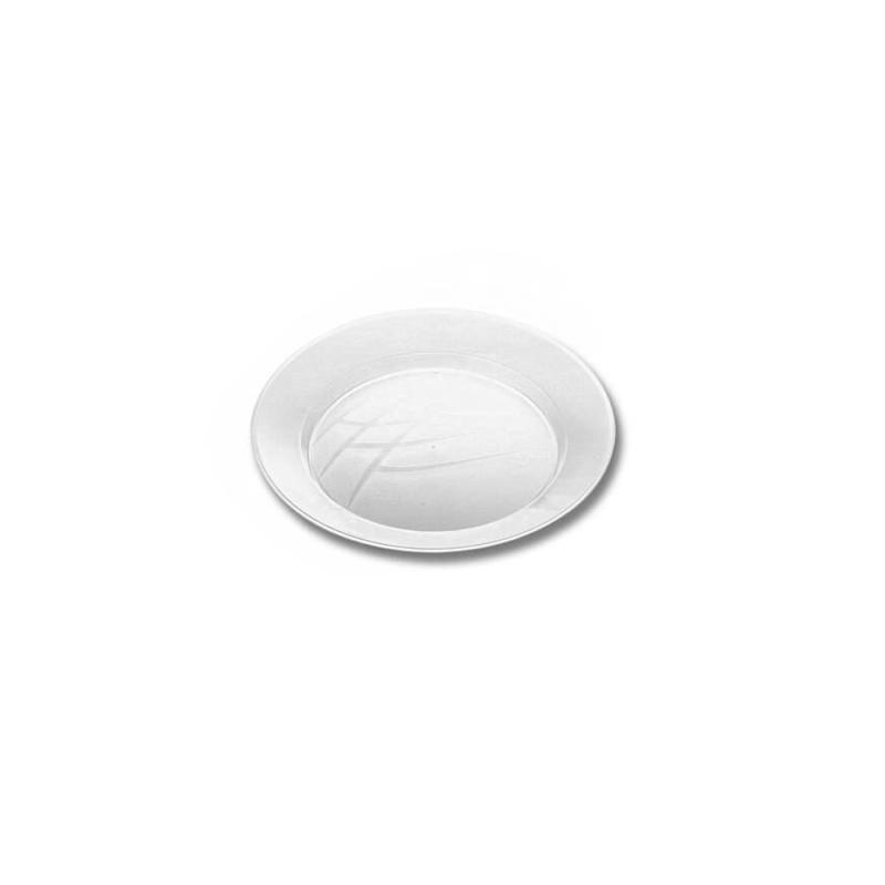 Prato Sobremesa Cristal 15cm - 10Un - Prafesta