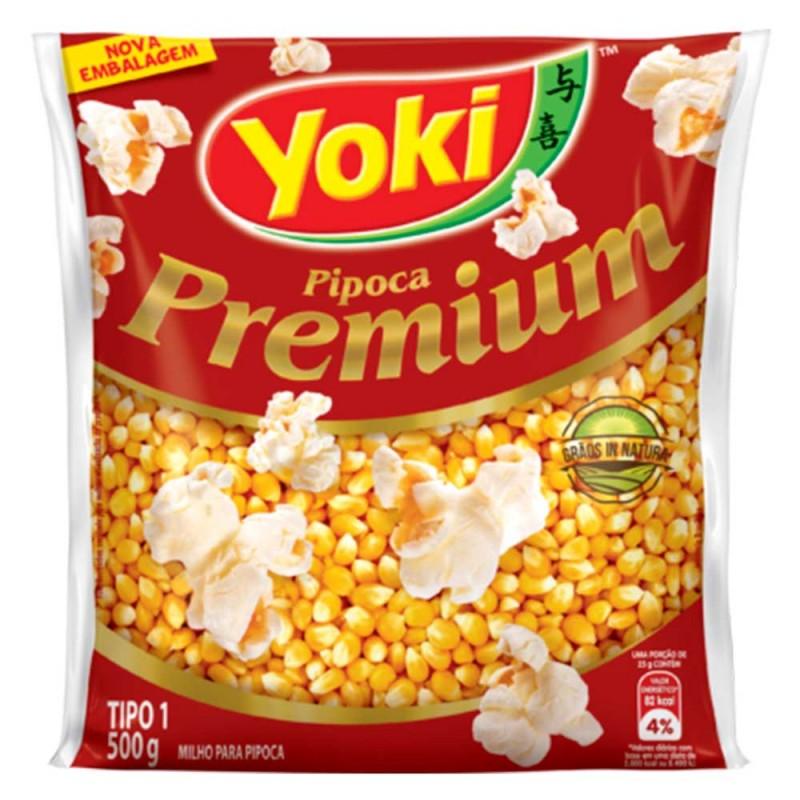 Milho para Pipoca • Premium • 500g • Yoki