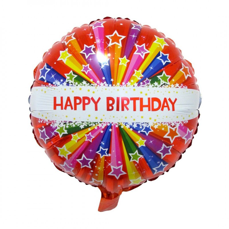 Balão Happy Birthday • Foil • Funny Fashion