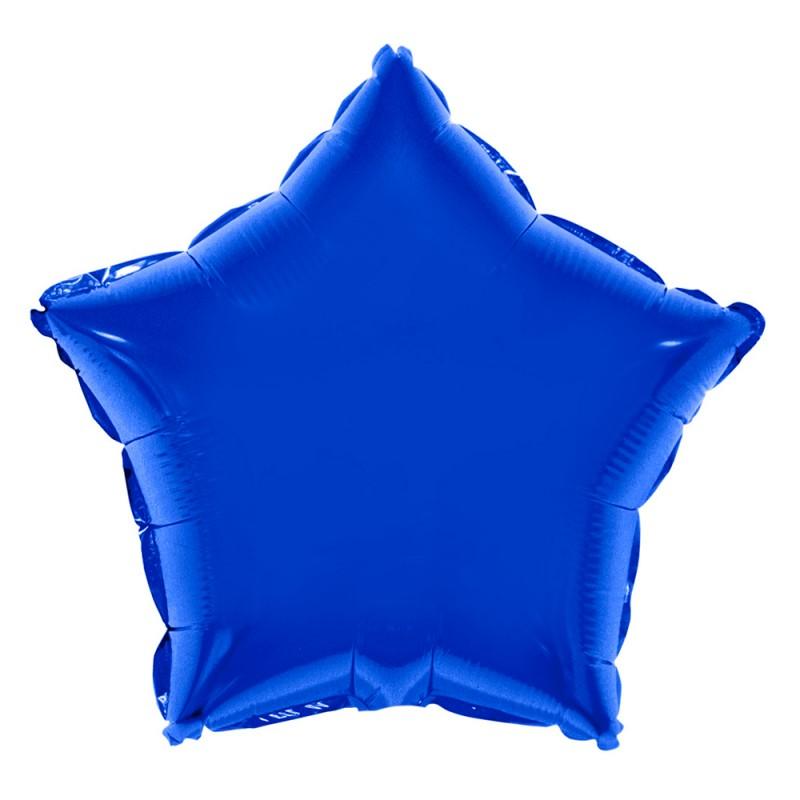 Balão Estrela • Azul  • Foil • Funny Fashion