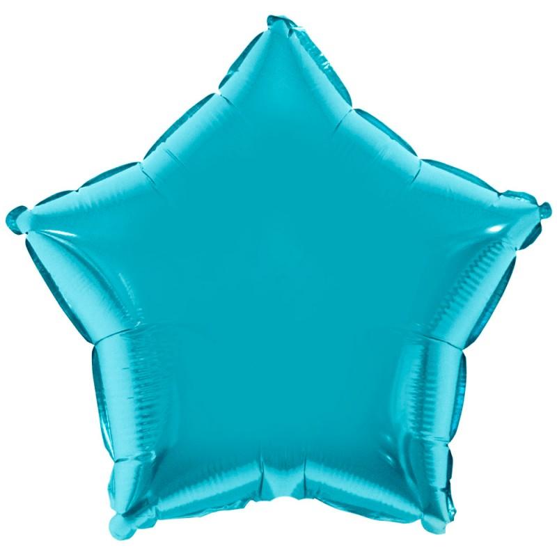 Balão Estrela • Azul Baby • Foil • Funny Fashion