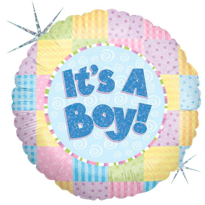 Balão It's a Boy! • Foil • Grabo