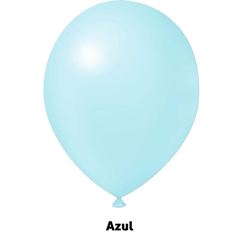 Balão Nº9 JOY • 25 un • Candy • Azul