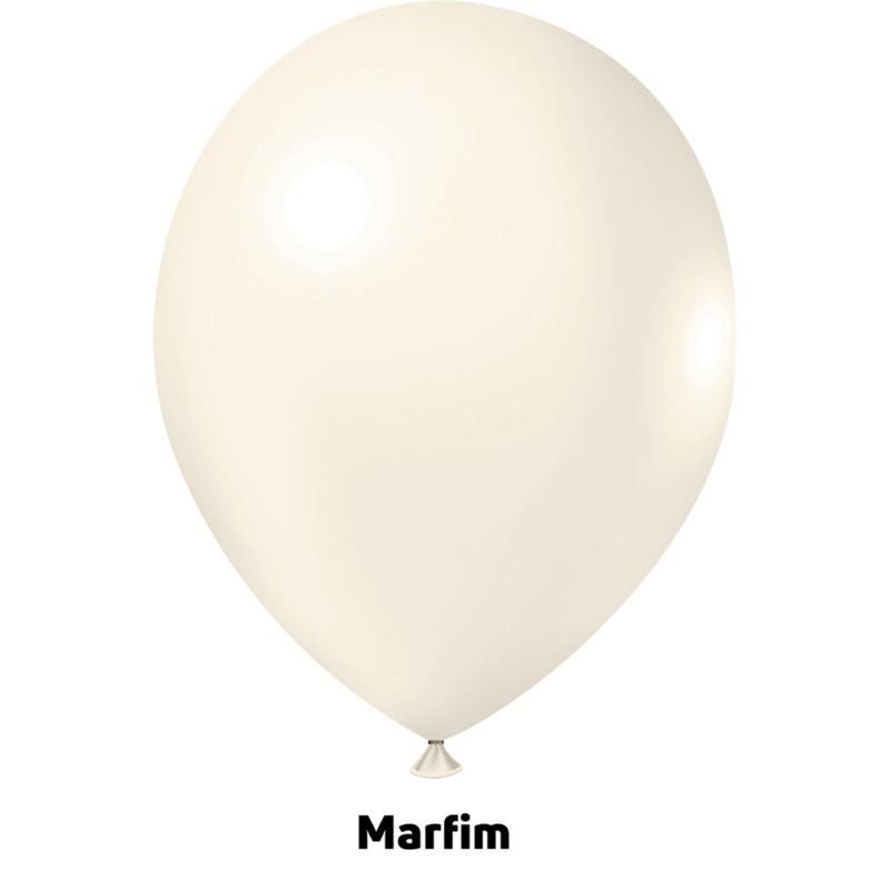 Balão Nº9 JOY • 25 un • Candy • Marfim
