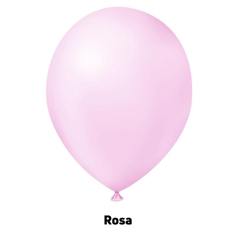 Balão Nº9 JOY • 25 un • Candy • Rosa