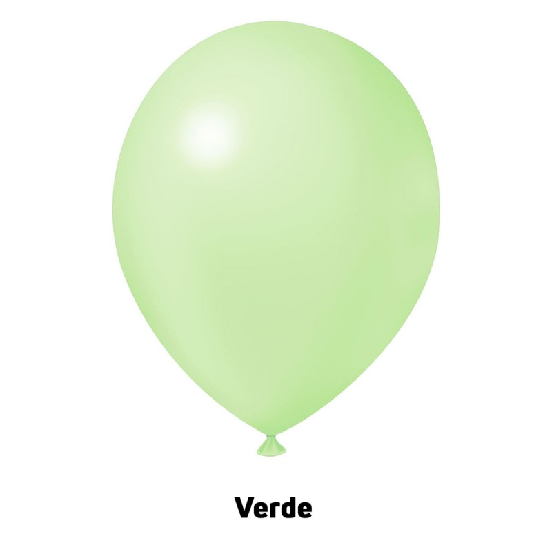 Balão Nº9 JOY • 25 un • Candy • Verde