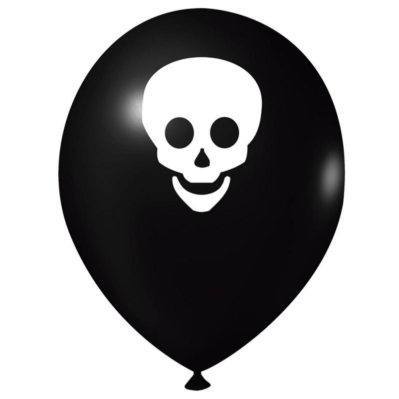 Balão Estampado • Caveira • Nº9 • 25 un • JOY