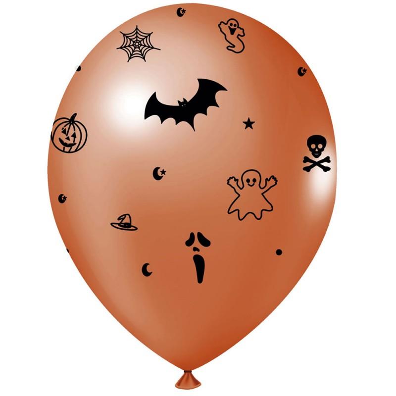 Balão Estampado • Halloween • Nº9 • 25 un • JOY