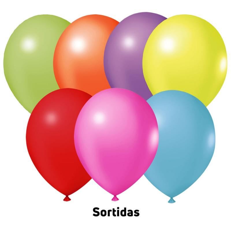 Balão Nº9 JOY • 25 un • Sortidos • Neon