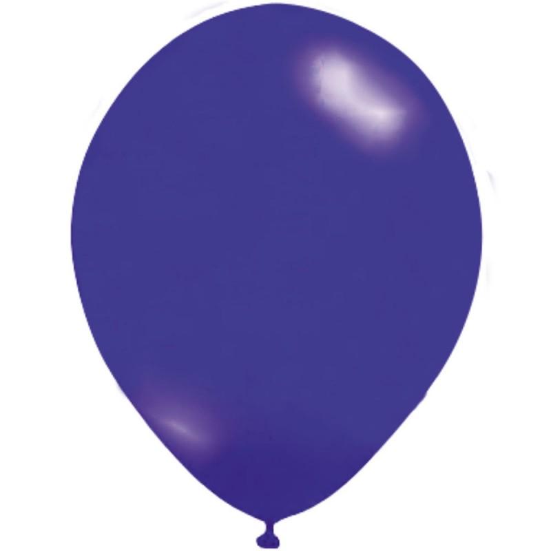 Balão Azul Royal Nº9 • 50un. • JOY