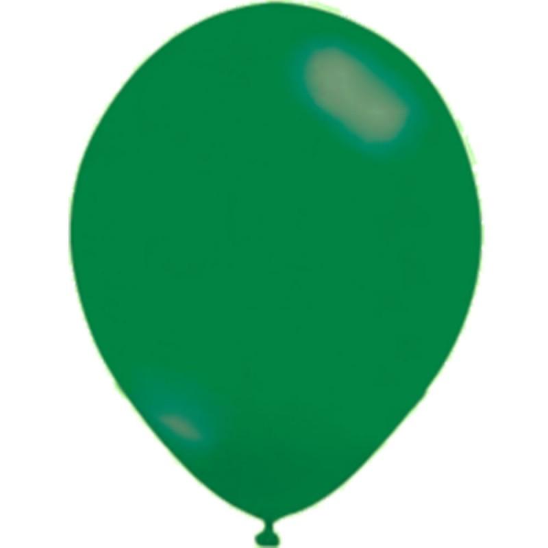 Balão Verde Bandeira Nº9 • 50un • JOY